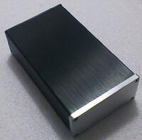 New Full Aluminum amplifier Enclosure Mini AMP Case Preamp Box PSU Chassis 0905