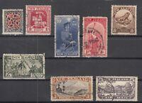 D3064/ NEW ZEALAND – 1932 / 1954 USED SEMI MODERN LOT – CV 200 $