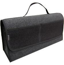 Kofferraumtasche Auto Tasche Zubehörtasche in SCHWARZ passend für Audi