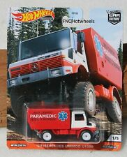 Hot Wheels Car Culture 88 MERCEDES Unimog U1300
