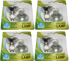 8 x alogeno GU10 35W lampadine faretti 35 Watt - NUOVISSIMO E SIGILLATO