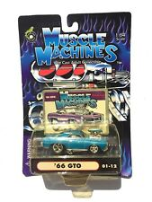 MUSCLE MACHINES '66 GTO 01-12 1:64 SCALE