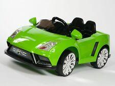 Kids 12v Ride On Car Power Lamborghini Style X Car Remote Control Wheels