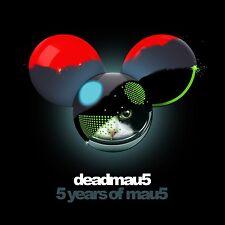DEADMAU5 - 5 YEARS OF MAU5 2 CD NEU