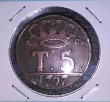 REGNO DI NAPOLI 5 TORNESI 1797