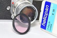Leica E39 Mount, Heliopan FL-D 2x Filtro di correzione colore per 39 mm, Summicron