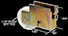 """CRL 1-1/2"""" Nylon Sliding Glass Door Roller with 5/8"""" Wide Housing for Marsha..."""