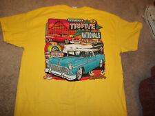 TRI-FIVE NATIONALS EVENT T-SHIRT NWOT SIZE X-LARGE 55-56-57 CHEVY BOWLING GREEN