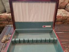 Vintage Silverplate Flatware Storage Chest Case Wooden Box 1847 Rogers Bros