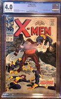 X-MEN #32 CGC 4.0 - JUGGERNAUT COVER