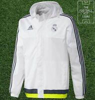 Real Madrid All Weather Jacket - adidas RMCF Football Rain Jacket - All Sizes