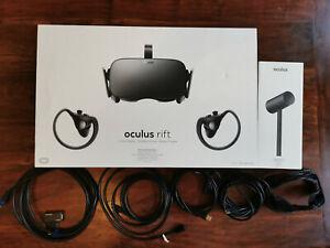 Oculus Rift CV1 + touch bundle +1 sensor and extras