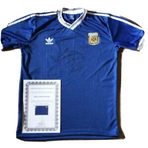 diego maradona signed shirt Inc COA