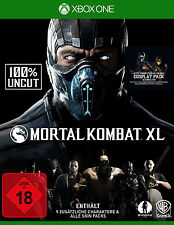 FSK18- Mortal Kombat XL (100% Uncut)  (XBox One)  (24 Jun 2016 12:17:51:813)