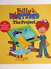 BILLY'S BOATSHED THE PROJECT, AIMEE ATKINS, SIGNED BOOK, FREE POSTAGE
