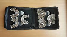 Dental / Orthodontics St Steel Impression Trays Perforated Set of 6 CE Surgimax