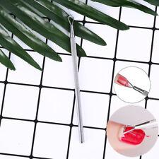 triangle stick rod uv gel polishremover nail cuticle pusher manicure diy tool XC