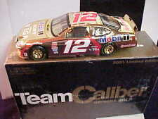 2001 JEREMY MAYFIELD #12 SONY WEGA 1/24 OWNERS GOLD TEAM CALIBER CAR