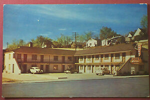 Vintage Elko Nevada Knapp Motel Postcard 1950s 1960s Hotel Advertising Card