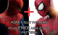 Amazing Spider Man 2012 Suit Costume Pattern PLUS FREE ASM 2 Pattern!!! PDF File
