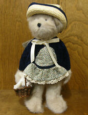 """Boyds Plush #90506 AUNT MABLE with SNOWY,  NEW/Tag From Retail Store 12"""" Jointed"""