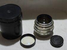 Jupiter 9 f2/85mm Russian Lens for M39 L39 SLR Zenit mount camera 8236