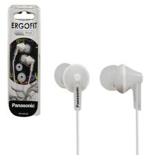 Panasonic RP-HJE125E-W Ergofit In-ear Earbud Headphones - White