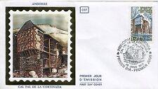 FDC PREMIER JOUR ANDORRE 1980 TIMBRE N° 282 CAL PAL DE LA CORTINADA