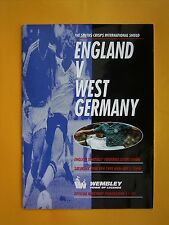 The Smiths Crisps International Shield - England v West Germany - 8th June 1991
