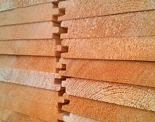 Perline legno mm. 25x150x3000 abete, doghe tavole incastro da rivestimenti