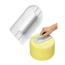 Reusable Cake Smoother Decorating Icing Fondant Sugar Craft Mold Making Tools