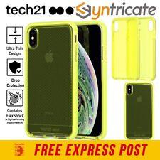 tech21 EVO Check for IPH XS Max- Neon Yellow