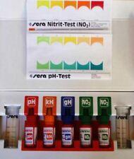 SERA Aqua test KIT set PH KH GH NO2 Reagenti per acquario marino e dolce acqua
