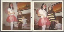 Unusual Vintage Photos Family in Halloween Costumes Man in Drag 757343