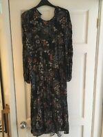 Zara Floral dress L