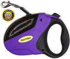 Retractable Leash By Hertzko, Great for Small, Medium & Large Dogs up to 110lbs.