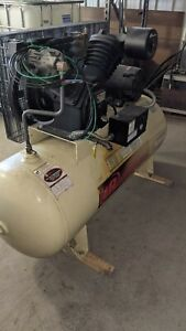 7.5H 230/3/60 2545E10-VP Two Stage Cast Iron Air Compressor model 3545