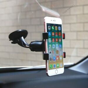 360 Rotatable Stand Mount car Mobile Phone Holder Flexible Tube Car Phone Holder