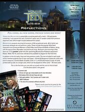 Star Wars 2001 Young Jedi Reflections CCG Promo Sell Sheet #8048