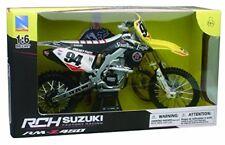 Modellini statici di moto e quad motocross Scala 1:6 per Suzuki