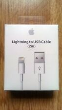 100% 2M GENUINE ORIGINAL OFFICIAL iPhone 7 8 6S 5 5c Lightning Charger USB Cable