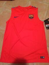 Camiseta Entrenamiento Fc Barcelona Nike Original Talla L