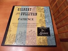 ISADORE GODFREY - GILBERT & SULLIVAN patience LONDON UK orig 2xLPs box EX++