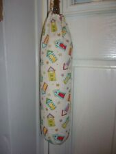 Seaside Carrier Bag Holder/Dispencer  Homecrafted Shabby Chic