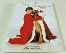 Vintage CHRISTMAS 1995 JCPenney CATALOG Department store in book LIKE NEW retro