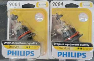 SET OF 2 HEADLIGHT BULBS PHILIPS STANDARD 9004B1