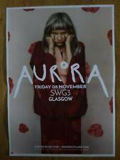Aurora - Glasgow nov.2019 live music show tour memorabilia concert gig poster