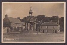 Postcard Boroughbridge near Ripon Yorkshire with Conservative Assn Rooms 1921 RP