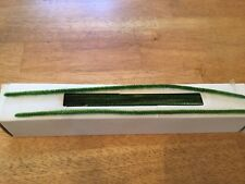 Vintage Chenille Pipe Cleaners, Moss Green, 100, Taiwan