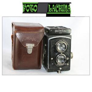 Rolleiflex Standard Tessar 7,5 cm f3,5 Con dorso lastre  Germany 1932-34